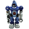 Power Warrior Light Up Walking Super Robot Action Figure - Blue