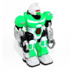Bright Fighter Green Power Warrior Super Robot Action Figure Lights Up and Walks