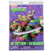Teenage Mutant Ninja Turtles Officially Licensed Temporary Tattoos 25pc Set
