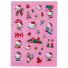 Hello Kitty Kids 28pc 3D Puffy Sticker Sheet for Arts and Craft