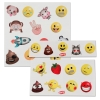 Emoji Kids Temporary Tattoos 25 piece Set