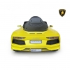 Rear View Lambo Battery Powered Car Aventador 6V