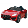 Kidplay Licensed Maserati Ghibli Kids Ride On Car 12V Battery Powered - Red