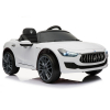Kidplay Licensed Maserati Ghibli Kids Ride On Car 12V Battery Powered - White