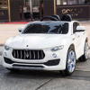 KidPlay Kids Ride On Car Maserati Levante 12V Battery Powered Vehicle - White
