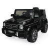 Mercedes G-63 12V Kids Ride On Car - Black Angle View