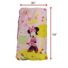 Disney Minnie Mouse Indoor Sleeping Bag Unfolded w/ Measurements