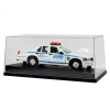 NYPD 1999 Ford Interceptor Police Car Replica 1:24 Scale Display Case