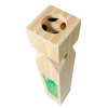 KidPlay Products Old Fashioned Four Toned Wooden Steam Train Whistle Toy