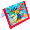 Paw Patrol Non-Woven Bifold Wallet with Full Matte Printing Toys and Games