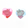 Peppa Pig Best Friends Accessory 6 Piece Set With Bracelets Hair Clips and Rings