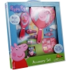 Peppa Pig Brush and Mirror Girls Dress Up Hair Accessory Set  Retail Packaging