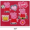 Peppa Pig Brush and Mirror Girls Dress Up Hair Accessory Set Scale Image