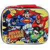 DC Comics Justice League Kids Insulated Lunch Bag School Tote Sturdy Zipper