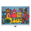 Spongebob and Patrick Fun Rug Dimensions