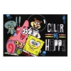 "Nickelodeon Spongebob Color Me Happy in Bikini Bottom Fun Rug 51"" x 78"""