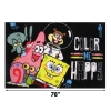 "Scaled Dimensions Nickelodeon Spongebob Color Me Happy in Bikini Bottom Fun Rug 51"" x 78"""