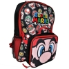 Super Mario Backpack and Lunch Pack Side View