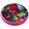 Trolls Girls Cosmetic Lip Gloss Compact featuring the Poppy and her Snack Pack Gang from Trolls