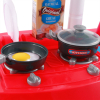 Kids Jumbo Light Up and Sound Pretend Play Full Kitchen Oven Set - Blue