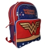 Wonder Woman 16 Inch Backpack with Colorful Stars and Stripes Print