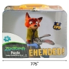 "Disney Zootopia 7.75"" Kids Tin Lunch Box with 48pc Puzzle Gift Set"