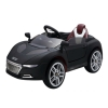 Audi Style Remote Control Super 6V Kids and Boys Ride On Sports Car Battery Powered Wheels in Black