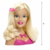Mattel Barbie Doll Head With Accessories