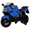 Licensed BMW Motorcycle 12V Kids Battery Powered Ride On Car - Blue