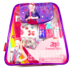 JoJo Siwa Girls Cosmetic Tote Bag Set Nail Polish Lip Gloss Body Tattoos