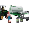 10 Piece Kids Farm Play Set with Animals, Tractors, and Farming Accessories for Pretend Play