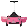 Licensed Fiat 500 Push Car Ride On for Kids - Pink