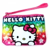 Sanrio Hello Kitty Girls Fashion Rainbow Wristlet Coin Purse