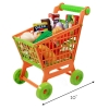 fisher price mommy and me grocery shopping cart