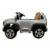 Mercedes G SUV Kids Ride On Car - Silver Side View