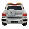 Mercedes G SUV Kids Ride On Car - Silver Back View