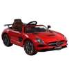 Licensed Mercedes Benz SLS AMG Black Series 12V Kids Battery Powered Ride On Car in Red