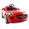 Front End View 12V Mercedes Benz SLR Officially Licsensed Ride On - Red