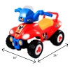 Disney Mickey Mouse ATV Ride on Toy w/ Measurements