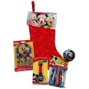 Mickey Mouse and Friends Christmas Stocking Kids Gift Set featuring Pluto and Donald Duck