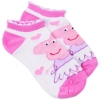 Peppa Pig Girls Ankle Socks Size 6-8.5 - Pink