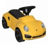 Licensed Porsche 911 Turbo Kids Ride On Push Car in Yellow