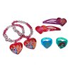 Disney Princess Best Friend Set with Bracelets Rings Hair Clips Cinderella Belle Ariel Rapunzel Aurora games costumes toys dress up