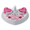 Bedazzled Karaoke Singing Machine with 9 Demonstration Songs for Kids and Girls in Pink