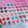 Disney Princess Sticker Earrings