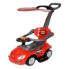 Stroller Ride On Push Car with Sun Canopy - Red