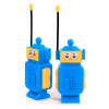Robot Boys Walkie Talkies Kids Radio Play Set Belt Clip Fisher Price
