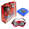Marvel Spiderman Kids Stocking Stuffer Tote Bag Bundle Toys Gift Set