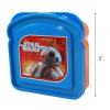 Disney Star Wars The Force Awakens Sandwich Container Featuring BB9