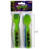 Teenage Mutant Ninja Turtles Fork and Spoon
